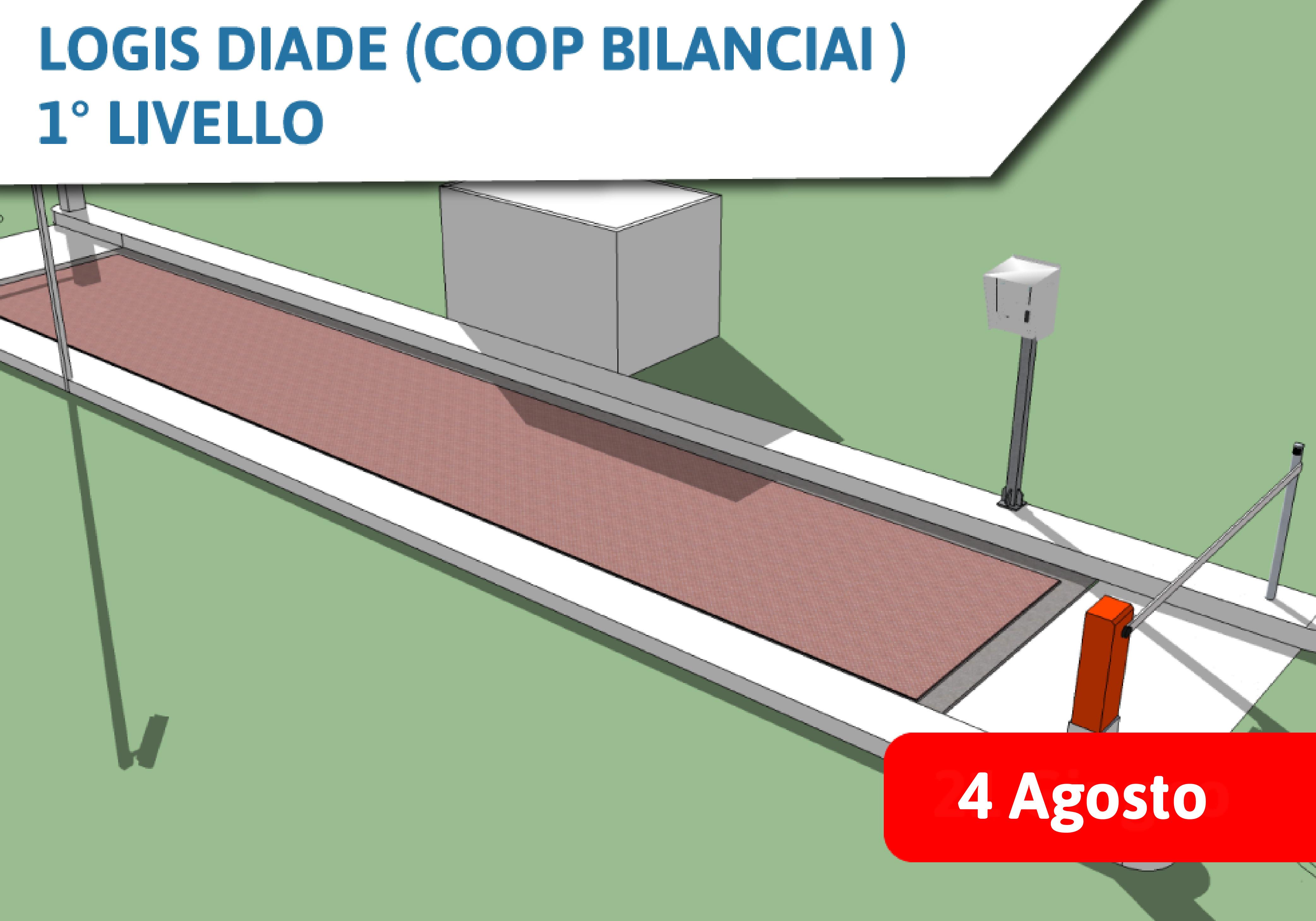Corso Commerciale Logis Diade (Coop Bilanciai) 1° Livello - 4 Agosto 2021