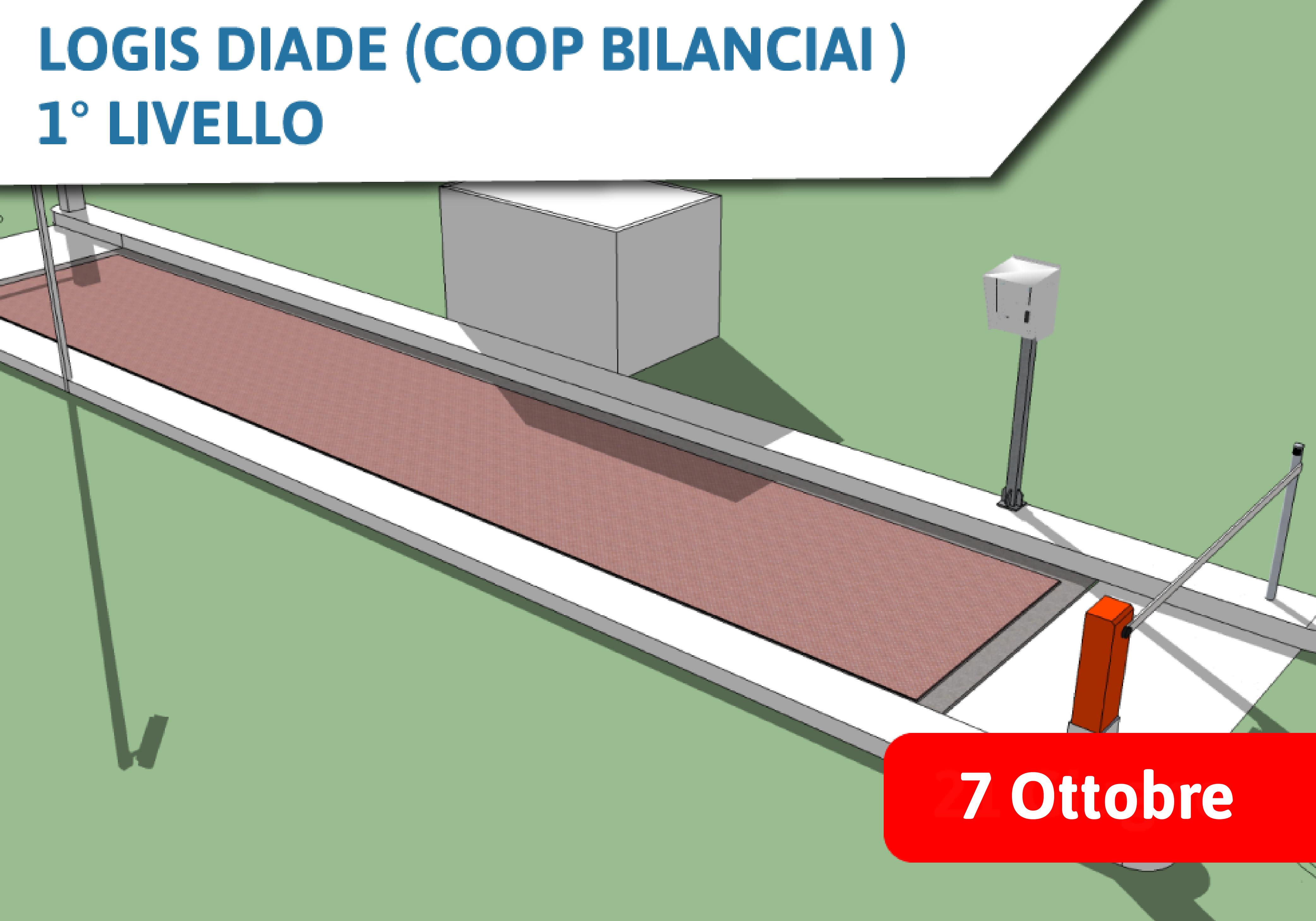 Corso Commerciale Logis Diade (Coop Bilanciai) 1° Livello - 7 Ottobre 2021